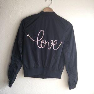 H&M girls 12-13Y bomber jacket